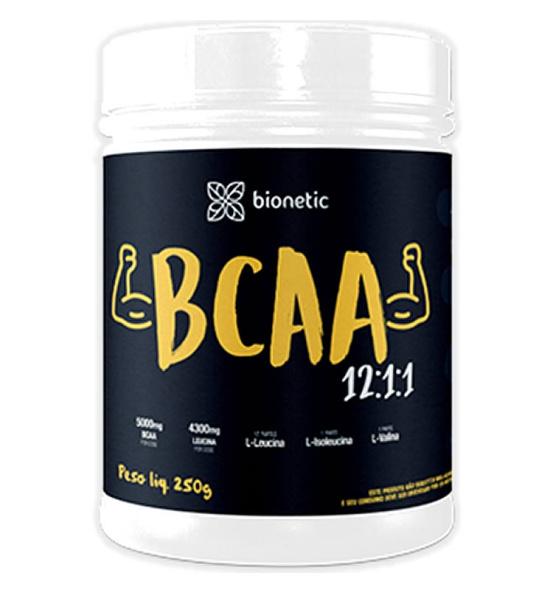 BCAA 12:1:1 Sabor Natural Bionetic 250g
