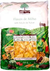 Flocos de Milho Sem Adição de Açúcar Mãe Terra 150g