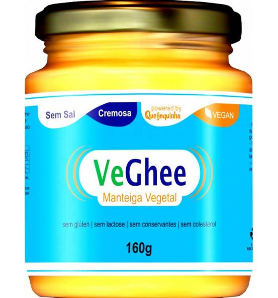 VeGhee Manteiga Vegetal Sem Sal Natural Science 160g