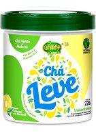 Chá Leve (Chá Verde + Matchá) Abacaxi com Hortelã Unilife 220g