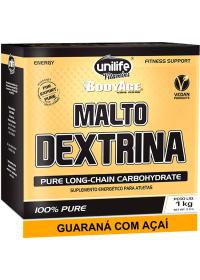 Maltodextrina sabor Guaraná com Açaí Unilife 1kg