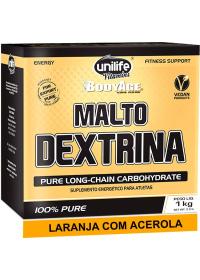 Maltodextrina Sabor Laranja com Acerola Unilife 1kg