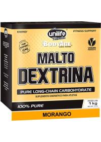 Maltodextrina Sabor Morango Unilife 1kg