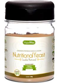 Nutritional Yeast (Levedura Nutricional) Sabor Fumaça & Alecrim VeganWay 100g