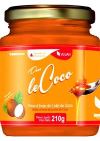 leCoco Doce à Base de Leite de Coco Natural Science 210g