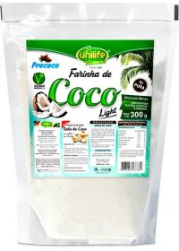 Farinha de Coco Light Unilife 300g