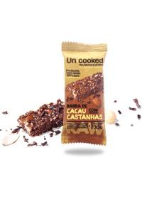 Barra de Cacau com Castanhas Un•Cooked 30g