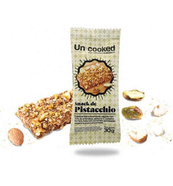 Snack Pistacchio Un•Cooked 30g