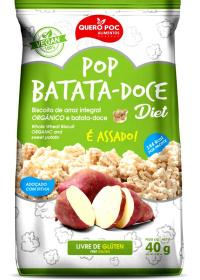 Snack de Arroz e Batata Doce Diet Quero Poc 40g
