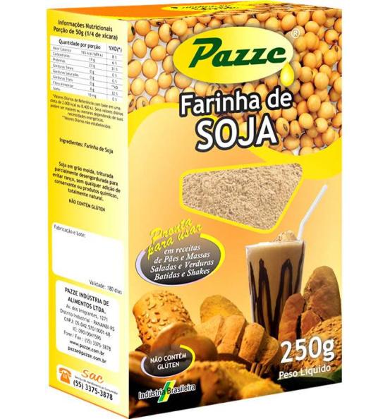 Farinha de Soja Pazze 250g