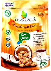 Sequilho de Coco Leve Crock 150g