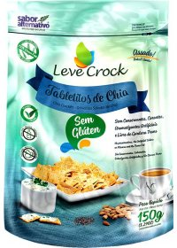Tabletitos de Chia Leve Crock 150g