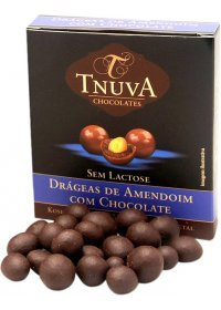 Drágeas de Amendoim com Chocolate Tnuva 50g