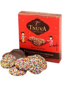 Pastilhas de Chocolate Coloridas Tnuva 50g