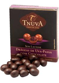 Drágeas de Uva-Passa com Chocolate Tnuva 50g