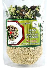 Arroz Integral Brócolis e Funghi Tui Alimentos 235g