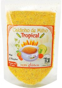 Caldinho de Milho Sabor Tropical Tui Alimentos 46g