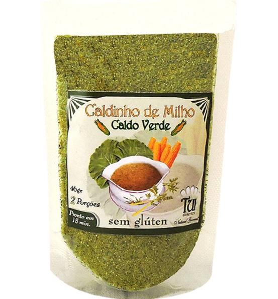 Caldinho de Milho Sabor Caldo Verde Tui Alimentos 46g