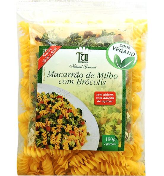 Macarrão de Milho com Brócolis Tui Alimentos 180g