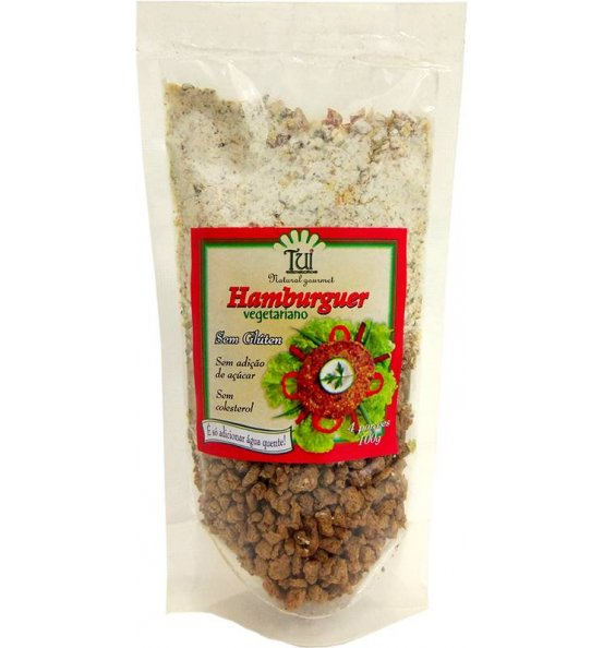 Hambúrguer Vegetariano Tui Alimentos 100g