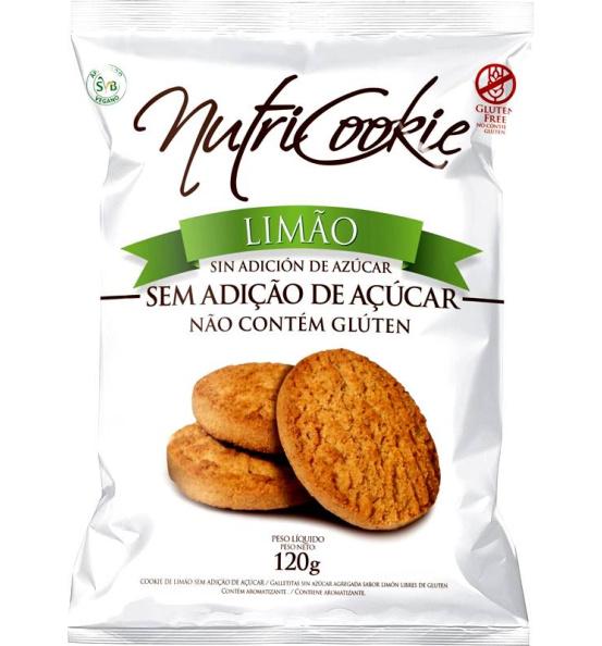 Cookie Zero Açúcar Limão Nutricookie 120g