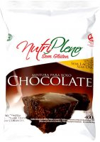 Mistura P/ Bolo Chocolate Sem Glúten Nutripleno 400g