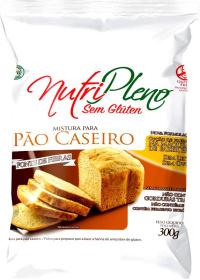 Mistura Sem Glúten para Pão Caseiro Nutripleno 400g
