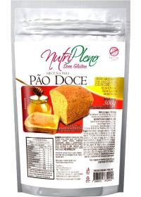Mistura para Pão Doce Sem Glúten Nutripleno 300g