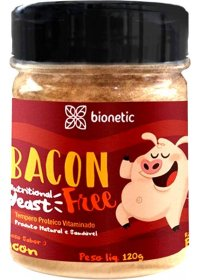 Bacon Free - Tempero Proteico Vitaminado Bionetic 120g