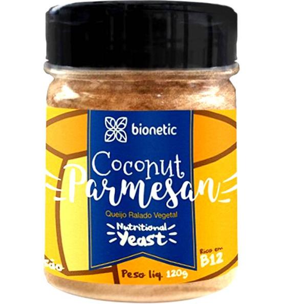 Coconut Parmesan - Queijo Ralado Vegeta Bionetic 80g