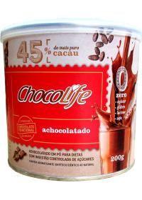 Achocolatado 45% Cacau ChocoLife 200g
