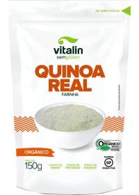 Farinha Quinoa Real Orgânica Vitalin 150g