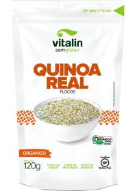 Quinoa Real em Flocos Orgânica Vitalin 120g