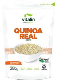 Quinoa Real em Grãos Orgânico Vitalin 250g