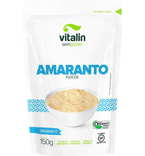 Amaranto em Flocos Orgânico Vitalin 150g