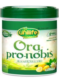 Ora Pro-Nóbis Instantâneo Sobor Limão Unilife 220g