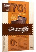 Chocolate 70% Cacau ChocoLife 25g