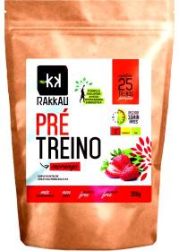 Pré Treino (Creatina) Sabor Morango Rakkau 300g