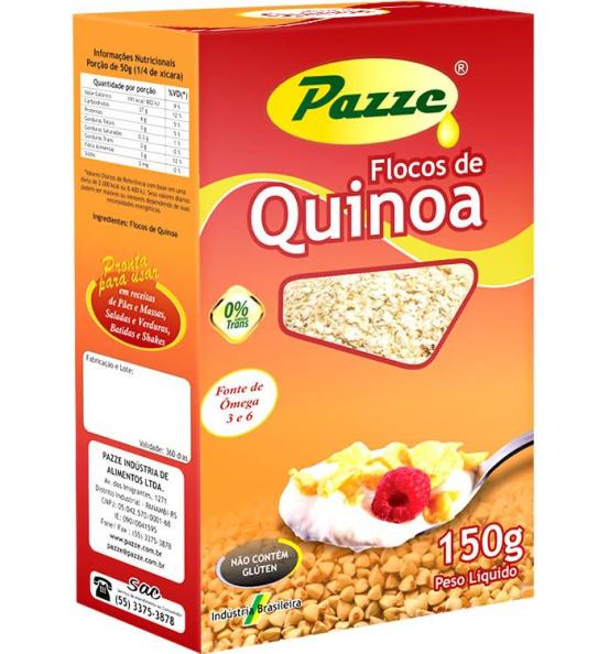 Quinoa em Flocos Pazze 150g