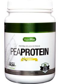 Pea Protein Sabor Baunilha - Proteína Isolada de Ervilha - VeganWay 900g