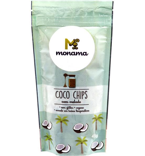Coco Chips C/ Melado Monama 45g