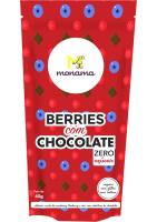 Snack Berries com Chocolate Sem Açúcar Monama 80g