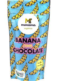 Banana com Chocolate Orgânico Monama 50g
