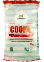 Cookie Orgânico Cacau, Canela e Proteína de Arroz Monama 36g