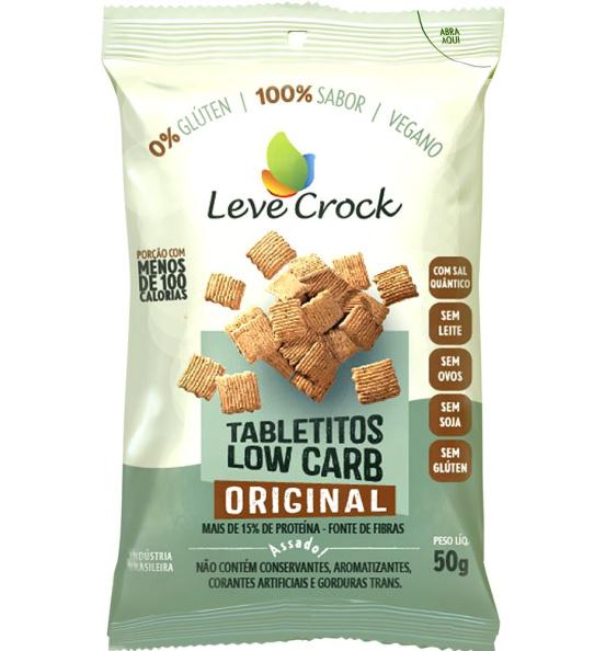 Tabletitos Low Carb Original Leve Crock 50g