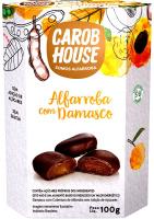 Alfarroba com Damasco Carob House 100g