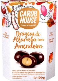 Alfarroba com Amendoim Carob House 100g