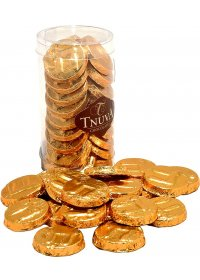 Moedas Pequenas de Chocolate Tnuva 100g