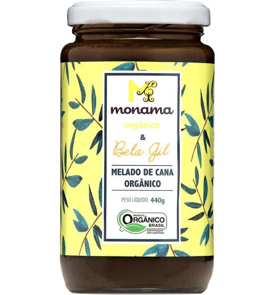 Melado de Cana Orgânico Monama 440g