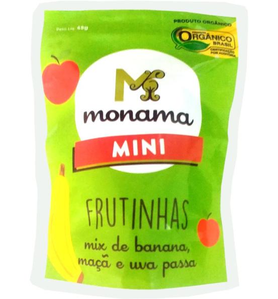 Snack Mini Frutinhas Orgânicas Monama 45g